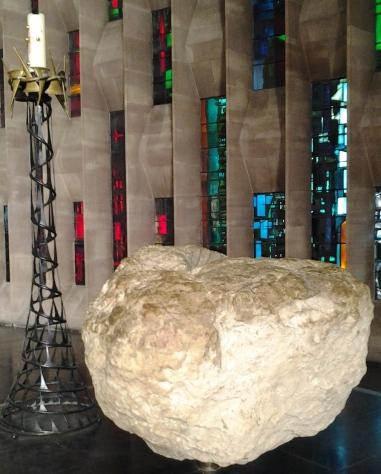 aprilyamasaki.com // Coventry Cathedral baptismal font