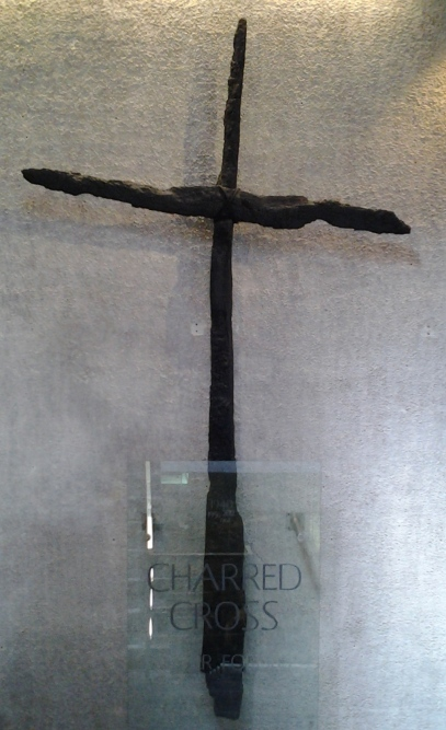 aprilyamasaki.com // Coventry Cathedral cross