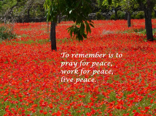 aprilyamasaki.com // To remember is to pray for peace, work for peace, live peace.