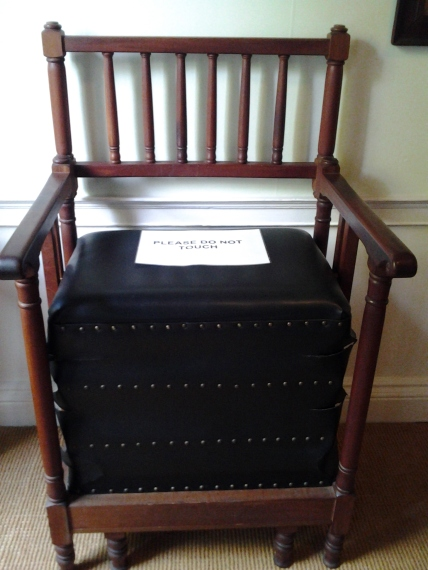 John Wesley's Exercise Chair