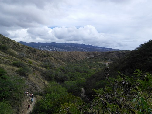 Hiking Diamond Head