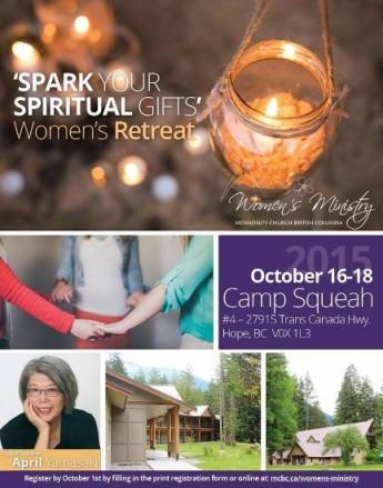 2015 October MCBC Women's Retreat