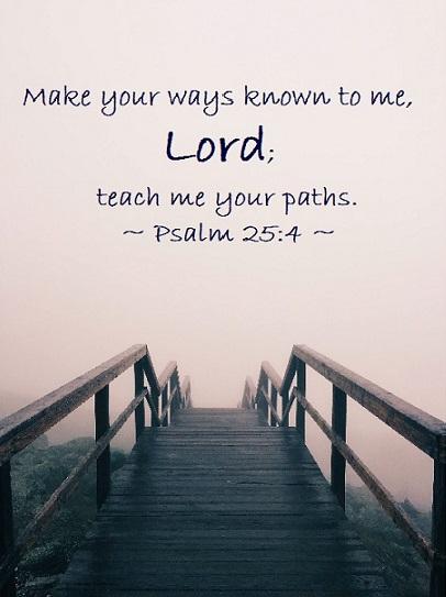 Psalm 25-4