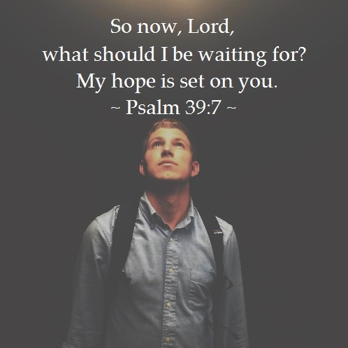 Psalm 39-7