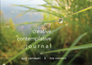 my creative contemplative journal