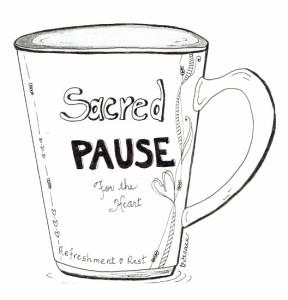 Sacred Pause Mug