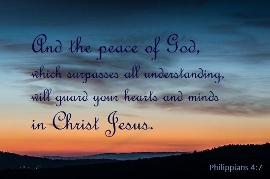 Philippians 4 7