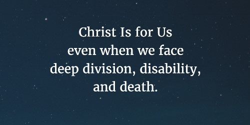 Christ Is for Us