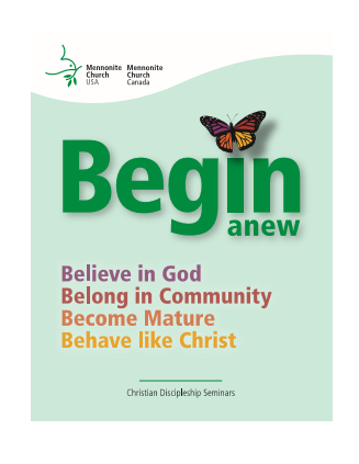 Begin Anew book cover