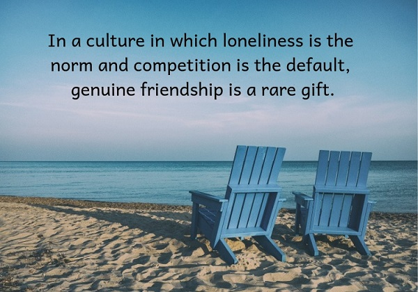 Can We Be Spiritual Friends?